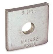"SQUARE WASHER 1/2"" (100/bx)"
